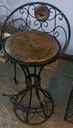 Wrought Iron Dining Chairs Mishrit Lohe Ki Khana Khane