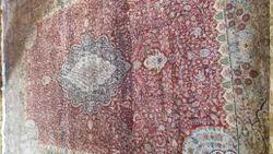 Kashmir Hand Made Hand Knotted Silk Carpet