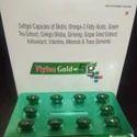Biotin Omega-3 Fatty Acids Ginko Bibola Ginseng Softgel Capsules