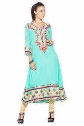 Designer Beautiful Party Wear Long Kurta Salwar Suit