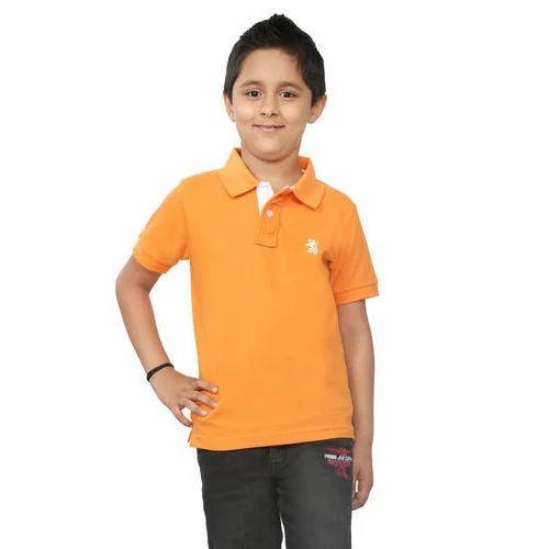 8cd333173 Light Orange Kids Polo T Shirts at Rs 299 /piece(s) | Children T ...