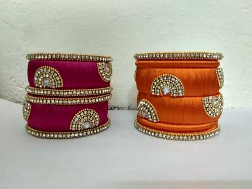 Silk Thread Bangles For Sale New