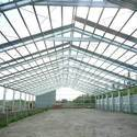 Industrial Steel Shed