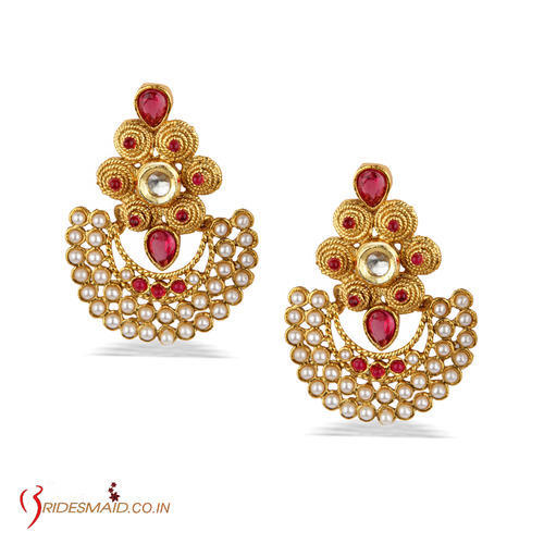 Product Image Antique Gold Plated Earring