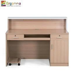 Polished Reception Desk