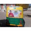 Auto Flex Branding Service, For Advertisement, Mode Of Advertising: Offline