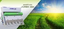 Amirthaa Raw Rice Color Sorting Machine