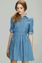 Blue Ladies Dress