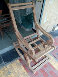 Wooden Rolling Chair Frame