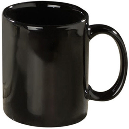 Black Coffee Mug Size Standard