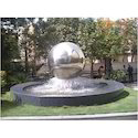 Spherical Garden Sculpture