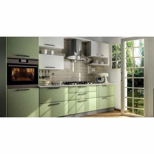 Designer L Shaped Modular Kitchen At Rs 2500 Square Feet: Modern Modular Kitchen Manufacturer From