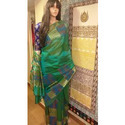 Uddup Party And Casual Wear Tissue Silk Saree, 5.5 M (separate Blouse Piece)