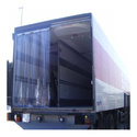 PVC Strip Door Curtains for Refrigerated Trucks