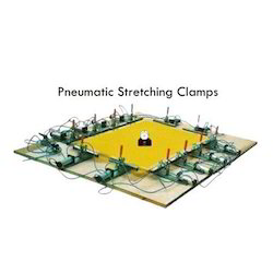 Pneumatic Fabric Stretching Clamps