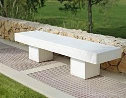 Delightful Concrete Bench