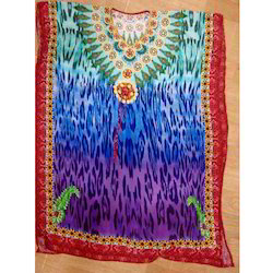 Digital Colorful Kaftan
