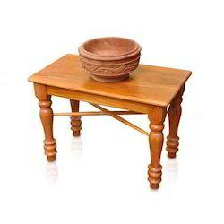 Wooden Oil Vessel