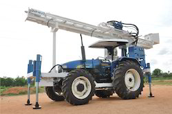 Getech Tractor Mounted Drilling Rig