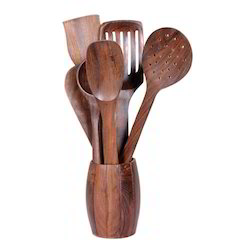 Natural Wooden Spatulas, For Foodsafe