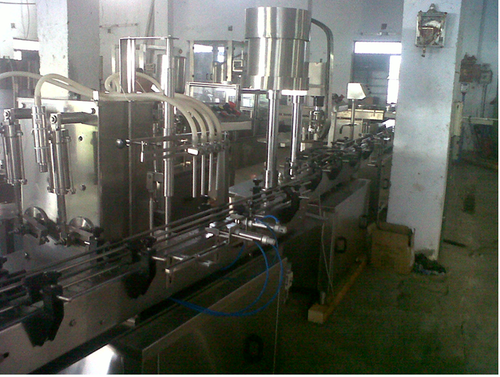 Capping Machine - Screw Capping Machine Manufacturer from