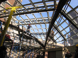 Canopy Fabrication Work
