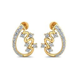Hallmark Golden Diamond Earring