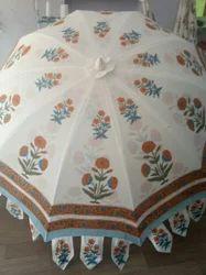 Printed Garden Umbrella