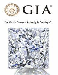 Real Princess Cut GIA Certified Diamond