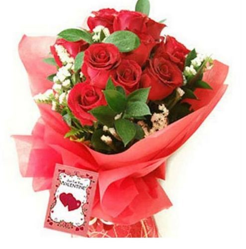Red Roses Bunch At Rs 499 No Rose Bouquet Id 14120158948
