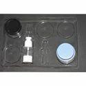 Cosmetic Facial Kit Tray Blister PVC