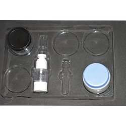 Cosmetic Facial Kit Tray Blister PVC
