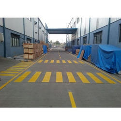 Thermoplastic Road Paint Marking