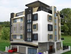 Apartment 3d Exterior Designing in Jalahalli East, Bengaluru, Space ...
