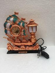Table Clock with Lamp