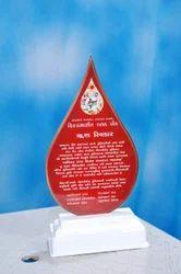 Customized Shield Award