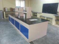 Island Work Table Laboratory Set Up