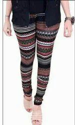 Casual Wear Printed Leggings