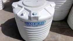 Super Polyethylene Water Storage Tank, Capacity: 200-25, 000 L