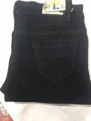 Ladies Black Solid Denim Jeans