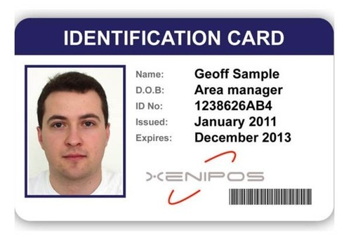 Rs Card Plastic Shape 16419622248 pack Id Identity Rectangular School 35