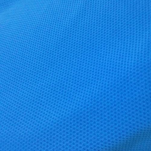 Blue Sportswear Mesh Fabric