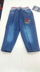 Denim Faded Kids Stylish Jeans