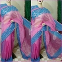 Kota Doria With Aari Work Suit sets