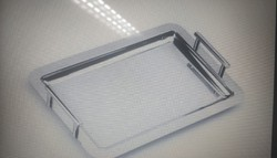 Ridhi Sidhi Stainless Steel Serving Tray for Hotel/Restaurant