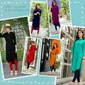 Rayon Designer Desi Girl Kurtis