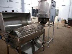 Cashew Peeling Machine with Kernel Separator
