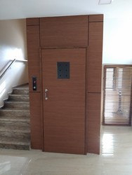 Manual Door Passenger Elevator