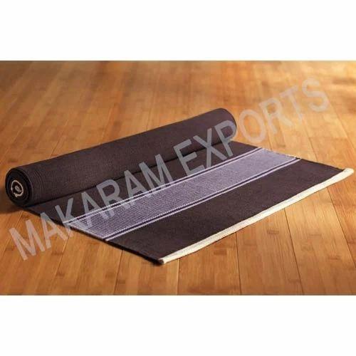 Cotton Yoga Rugs Manufacturer From Karur