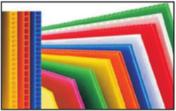 PP Hollow Polypropylene Corrugated Sheets